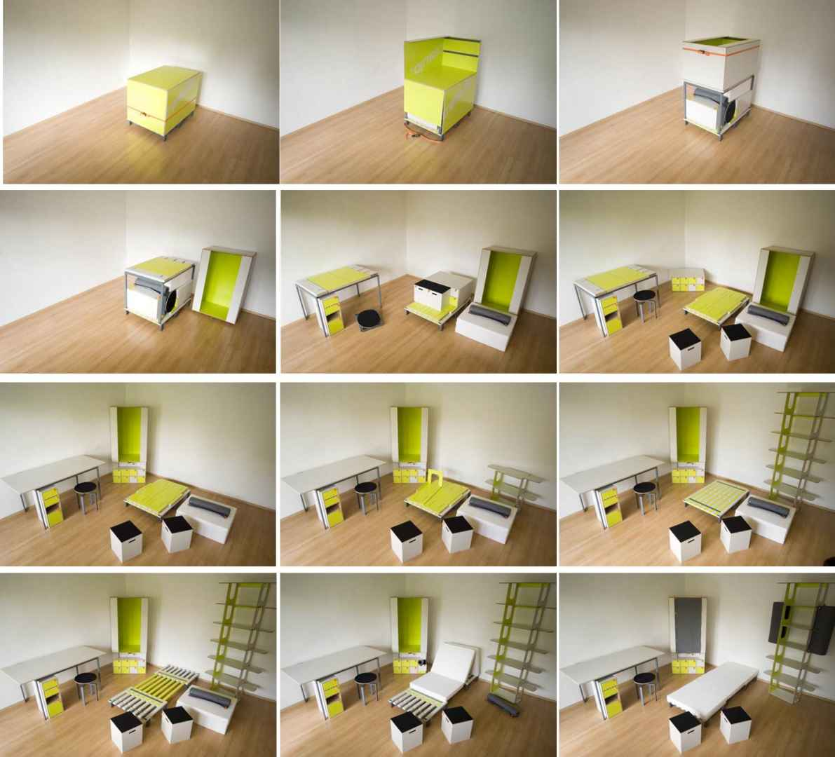 casulo an entire apartment s furniture in e small box furniture for 1 bedroom apartment Introduction, Tiny Houses