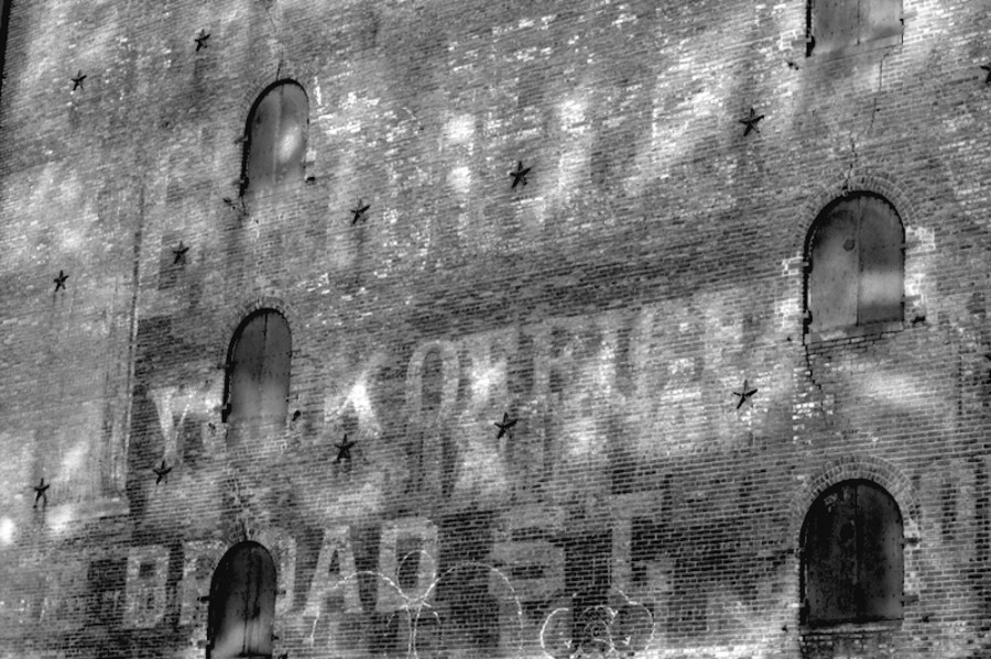 Molly Ghost Sign Palimpsest